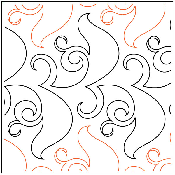 Lorien's Evergreen quilting pantograph pattern by Lorien Quilting : lorien quilting - Adamdwight.com