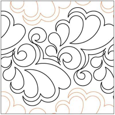 Fantasia-quilting-pantograph-pattern-Lorien-Quilting