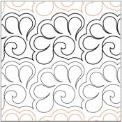 Fan-Feathers-quilting-pantograph-pattern-Lorien-Quilting