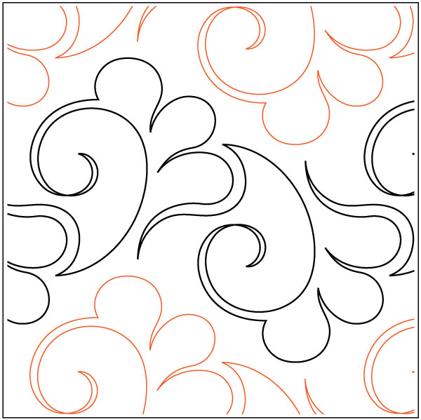 Swift Quilting Pantograph Pattern By Lorien Quilting