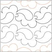 INVENTORY REDUCTION...Plain Paisley pantograph sewing pattern by Lorien Quilting