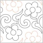 Pretty Penny quilting pantograph pattern by Lorien Quilting