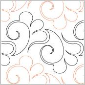 INVENTORY REDUCTION...Swift quilting pantograph pattern by Lorien Quilting