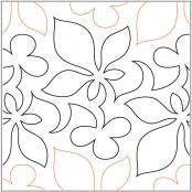 Vigour quilting pantograph pattern by Lorien Quilting