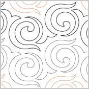 Allium-quilting-pantograph-pattern-Lorien-Quilting