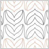 Archer-quilting-pantograph-pattern-Lorien-Quilting