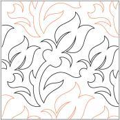 Armistice-quilting-pantograph-pattern-Lorien-Quilting