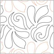 Beauty-quilting-pantograph-pattern-Lorien-Quilting