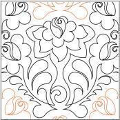 Bouquet-quilting-pantograph-pattern-Lorien-Quilting