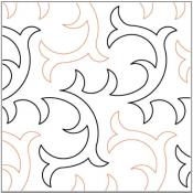 Bramble-quilting-pantograph-pattern-Lorien-Quilting