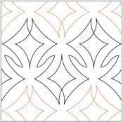 Brilliance-quilting-pantograph-pattern-Lorien-Quilting