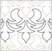 Bristle-quilting-pantograph-pattern-Lorien-Quilting