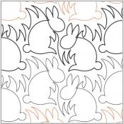 Bunnies-quilting-pantograph-pattern-Lorien-Quilting