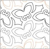 Butterfly-Kisses-quilting-pantograph-pattern-Lorien-Quilting