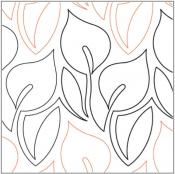 Calla-Lily-quilting-pantograph-pattern-Lorien-Quilting