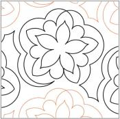 Camellia-quilting-pantograph-pattern-Lorien-Quilting