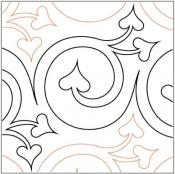 Cherish-quilting-pantograph-pattern-Lorien-Quilting