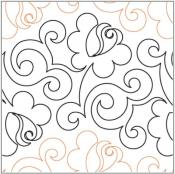 Climbing-Rose-quilting-pantograph-pattern-Lorien-Quilting