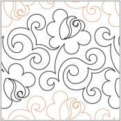 Climbing-Rose-quilting-pantograph-pattern-Lorien-Quilting