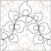 Country-Garden-quilting-pantograph-pattern-Lorien-Quilting