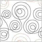 INVENTORY REDUCTION...Double Dutch quilting pantograph pattern by Marc Hilton Cohen