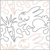 I-Love-Carrots-quilting-pantograph-sewing-pattern-Marc-Hilton-Cohen