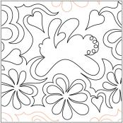 Bunny-Blossoms-quilting-pantograph-pattern-Mary-Eddy