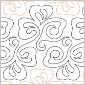 Kays-Shamrocks-quilting-pantograph-pattern-Mary-Eddy
