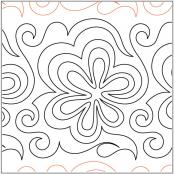 Marys-Flower-Power-quilting-pantograph-pattern-Mary-Eddy