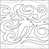 School-of-Fish-quilting-pantograph-pattern-Mary-Eddy