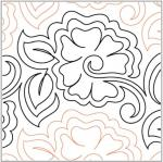 Azaleas pantograph pattern by Patricia Ritter and Marybeth O'Halloran