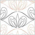 White-Lotus-quilting-pantograph-sewing-pattern-Patricia-Ritter-Marybeth-Ohalloran-1
