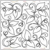 Maureen's Leaf and Vine quilting pantograph sewing pattern from Maureen Foster