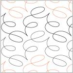 Unwind quilting pantograph pattern by Megan Haun