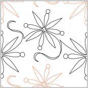 Snowfall pantograph pattern Melonie J. Caldwell