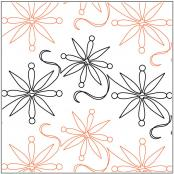 Snowfall pantograph pattern Melonie J. Caldwell 1