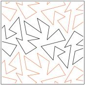 Shenanigans pantograph pattern by Melonie J. Caldwell