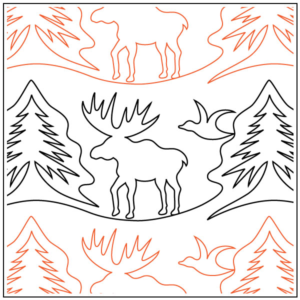Great-Outdoors-Moose-quilting-pantograph-Patricia-Ritter-Melonie-J-Caldwell-2