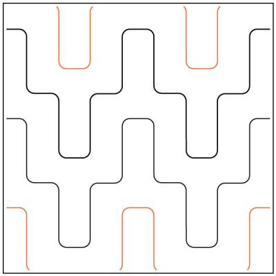Conduit pantograph pattern by Patricia Ritter and Melonie J. Caldwell