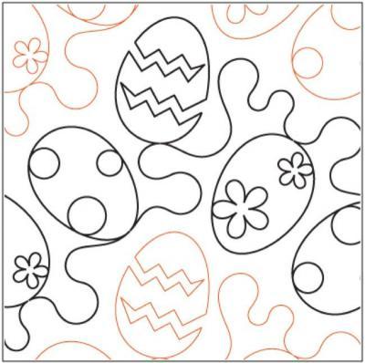Eggstravaganza-quilting-pantograph-Patricia-Ritter-Melonie-J-Caldwell