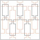 Beveled-Glass-quilting-pantograph-pattern-Melonie-J-Caldwell