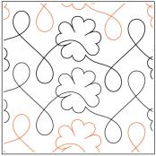 Charmed quilting pantograph sewing pattern by Melonie Caldwell