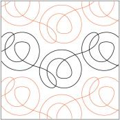 Cinnamon pantograph pattern by Patricia Ritter and Melonie J. Caldwell