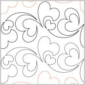 Pieces Of My Heart pantograph pattern by Patricia Ritter and Melonie J. Caldwell 1