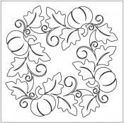 Pumpkin-Fest-Block-1-quilting-pantograph-Patricia-Ritter-Melonie-J-Caldwell