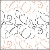 Pumpkin Fest Petite pantograph pattern by Patricia Ritter and Melonie J. Caldwell