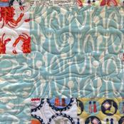 Sea Creatures pantograph pattern by Patricia Ritter and Melonie J. Caldwell 2