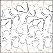Lei quilting pantograph pattern by Patricia Ritter and Nancy Read