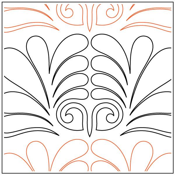 Naomis-Fanfare-Border-quilting-pantograph-pattern-Naomi-Hynes