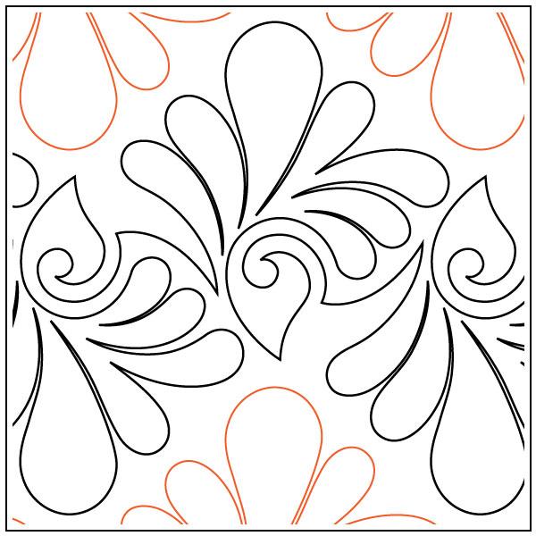 Naomis-Fanfare-quilting-pantograph-pattern-Naomi-Hynes